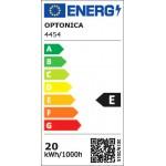 198SMD/m 20W/m 12V Professional LED Streifen 2835 Kaltweiß 5m Spritzwassergeschützt