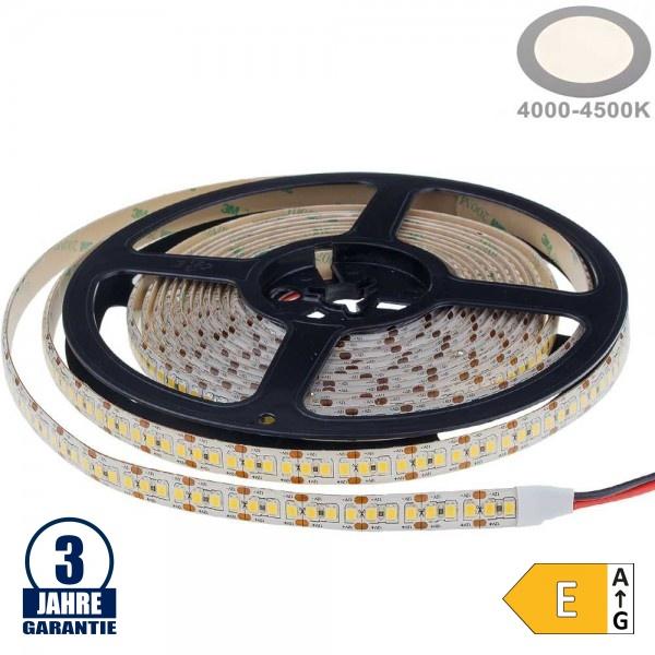198SMD/m 20W/m 12V Professional LED Streifen 2835 Neutralweiß 5m Wasserdicht