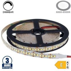 198SMD/m 20W/m 12V Professional LED Streifen 2835 Kaltweiß 5m