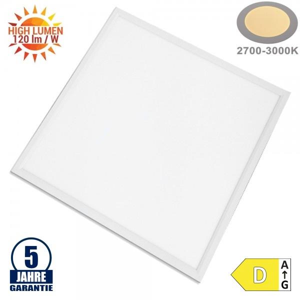 40W 60x60cm LED Panel Warmweiß UGR 19 120LM/W