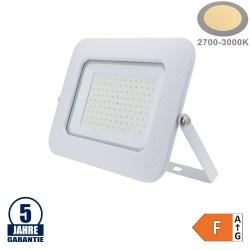 100W LED SMD Fluter Professional mit 70cm Kabel Weiß Warmweiß