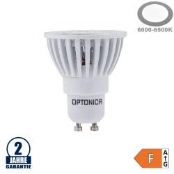6W LED COB GU10 Spot Kaltweiß Weiß