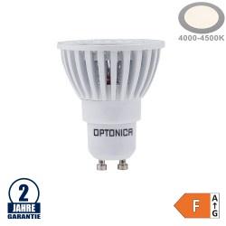 6W LED COB GU10 Spot Neutralweiß Weiß