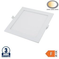 24W LED Einbauleuchte Slim Mini Quadratisch CCT Farbwechsel IP44
