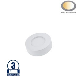 6W LED Aufbauleuchte Slim Mini Rund CCT Farbwechsel IP44
