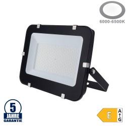 150W LED SMD Fluter Professional mit 100cm Kabel Schwarz Kaltweiß