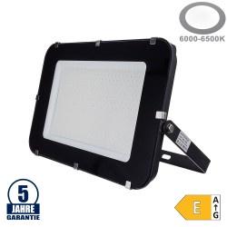 300W LED SMD Fluter Professional mit 100cm Kabel Schwarz Kaltweiß