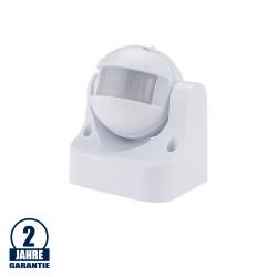 LED Bewegungsmelder Wandmontage bis 300W Ø12m 180° IP44