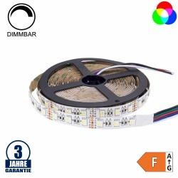 60SMD/m 16W/m 12V Professional LED Streifen RGBW 5m Rolle