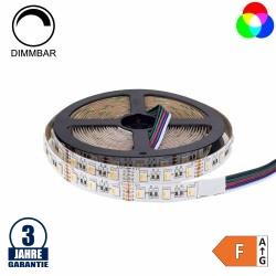 60SMD/m 16W/m 12V Professional LED Streifen RGBWW 5m Rolle