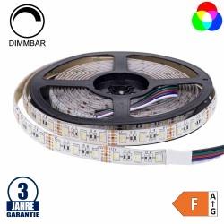60SMD/m 16W/m 12V Professional LED Streifen RGBW Spritzwassergeschützt 5m Rolle