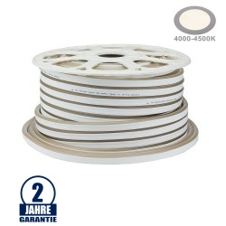 120SMD/m 8,5W 230V Led Flex-Neon Streifen Neutralweiß 1m