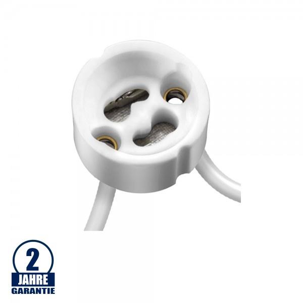 GU10 Sockel mit Kabel