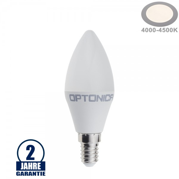 8,5W LED E14 Kerze Kunststoff Neutralweiß