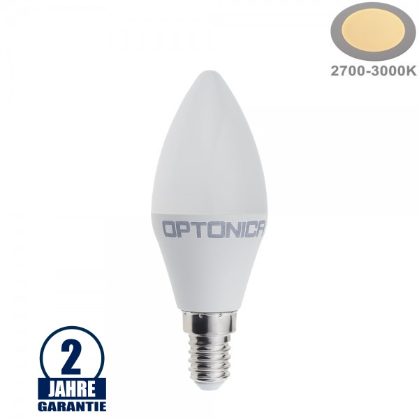 8,5W LED E14 Kerze Kunststoff Warmweiß