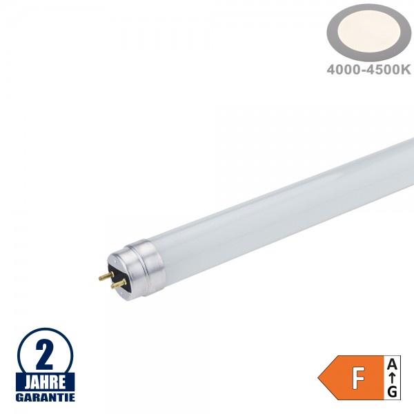 18W LED G13/T8 Glas Röhre 120cm Neutralweiß CL