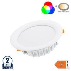 2.4GHz RGB+CCT LED Downlight 18W