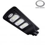 60W LED Solar Straßenleuchte 6000K IP65