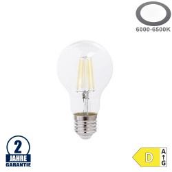 10W LED FILAMENT E27 A60 Birne Glas 1350 Lumen Kaltweiß