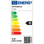 14W LED FILAMENT E27 A65 Birne Glas 2100 Lumen Kaltweiß
