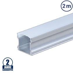 LED Profil PDS2 eloxiert 2m SET OP