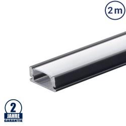 LED Profil Micro Schwarz 2m SET OP