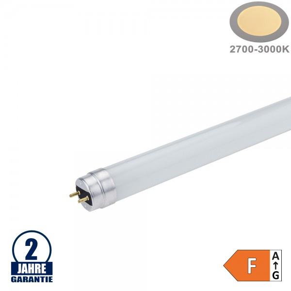 18W LED G13/T8 Glas Röhre 120cm Warmweiß CL