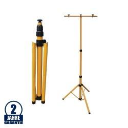 Stativ für Fluter 64-157cm Gelb