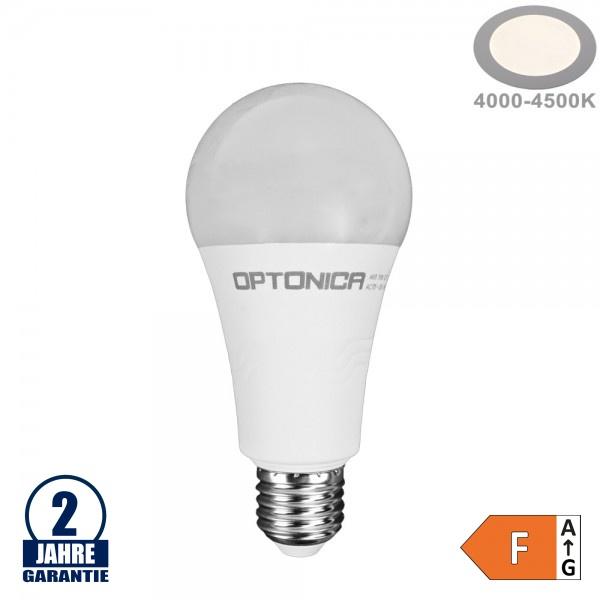 19W LED E27 A65 Birne Kunststoff Neutralweiß