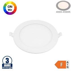 6W LED Professional Mini Panel Rund Neutralweiß