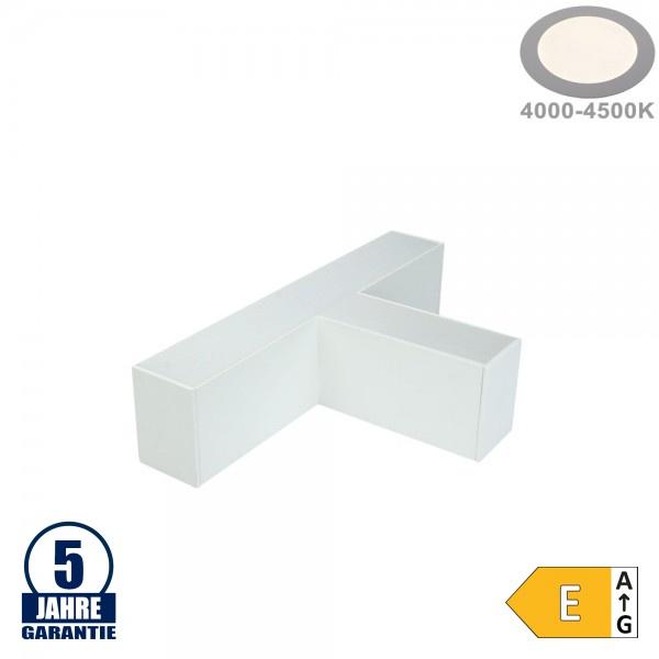 12W T-Verbinder für Linearleuchte Slim Professional Weiß Neutralweiß 5382