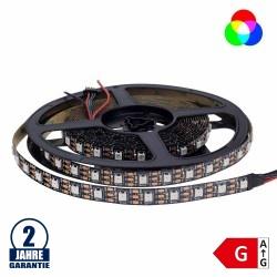 60SMD/m 16W/m 5V Digital LED Streifen 60 Pixel 5m Rolle