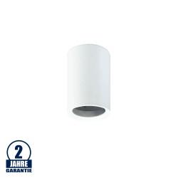 Deckenstrahler Aluminium GU10 Rund Weiß