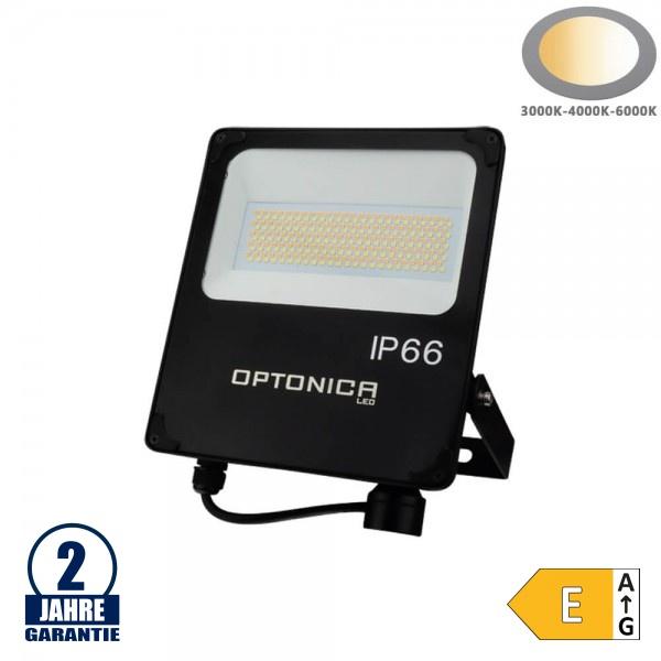 50W LED SMD Fluter CCT Farbwechsel Schwarz IP66