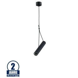 Pendelleuchte für E27 25cm Schwarz