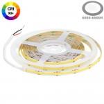 320SMD/m 10W/m 24V COB LED Streifen CRI90+ Kaltweiß 5m