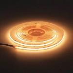 320SMD/m 10W/m 24V COB LED Streifen CRI90+ Warmweiß 5m