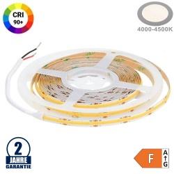 512SMD/m 12W/m 24V COB LED Streifen CRI90+ Neutralweiß 5m