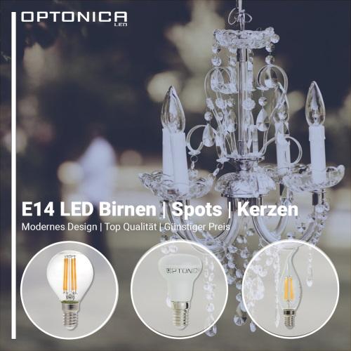 E14 LED Birnen / Spots / Kerzen