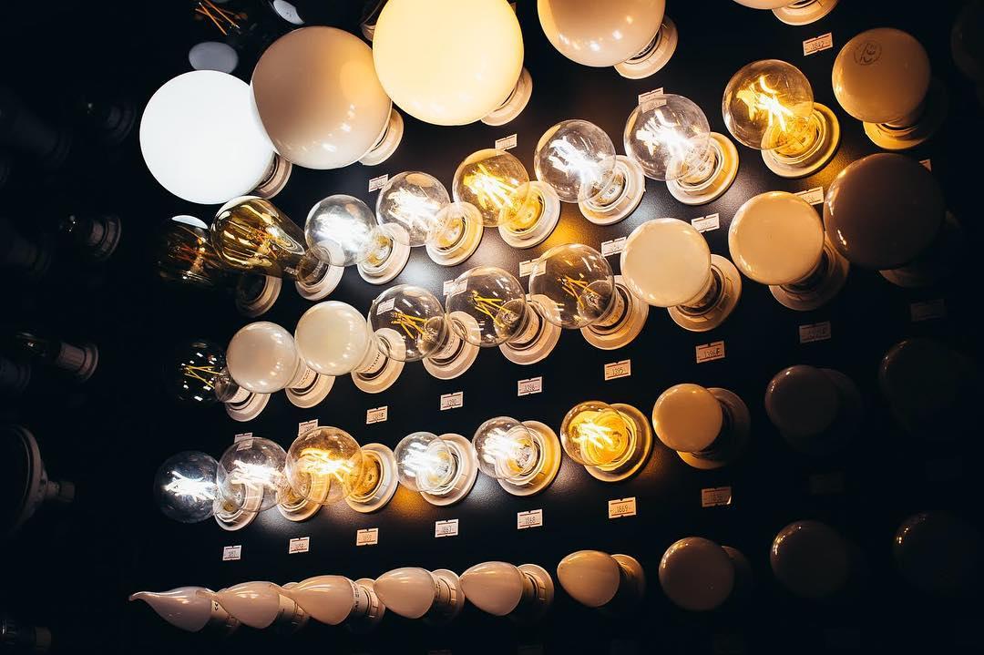 energieeffiziente LED Lampen