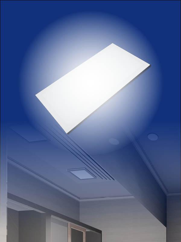 rechteckigen LED Panel
