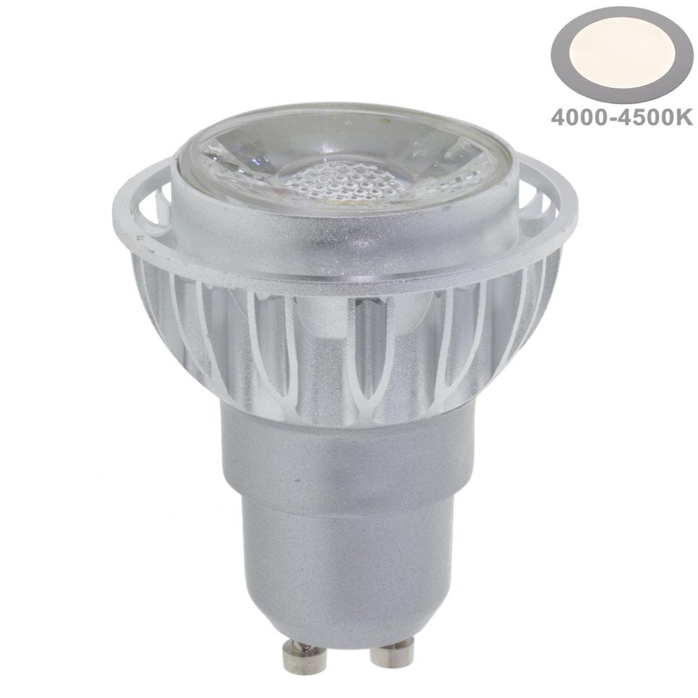 7W LED COB GU10 Spot Neutralweiß