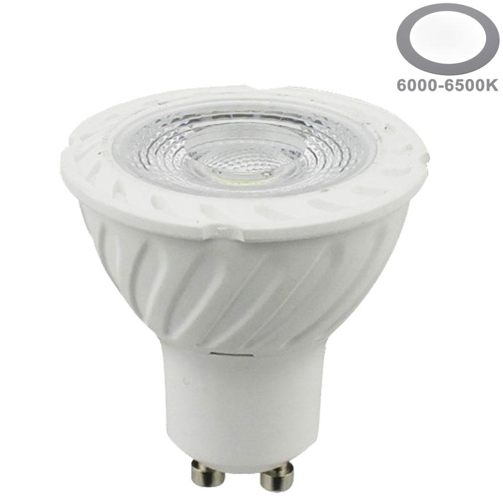 7W LED COB GU10 Spot Keramik Kaltweiß