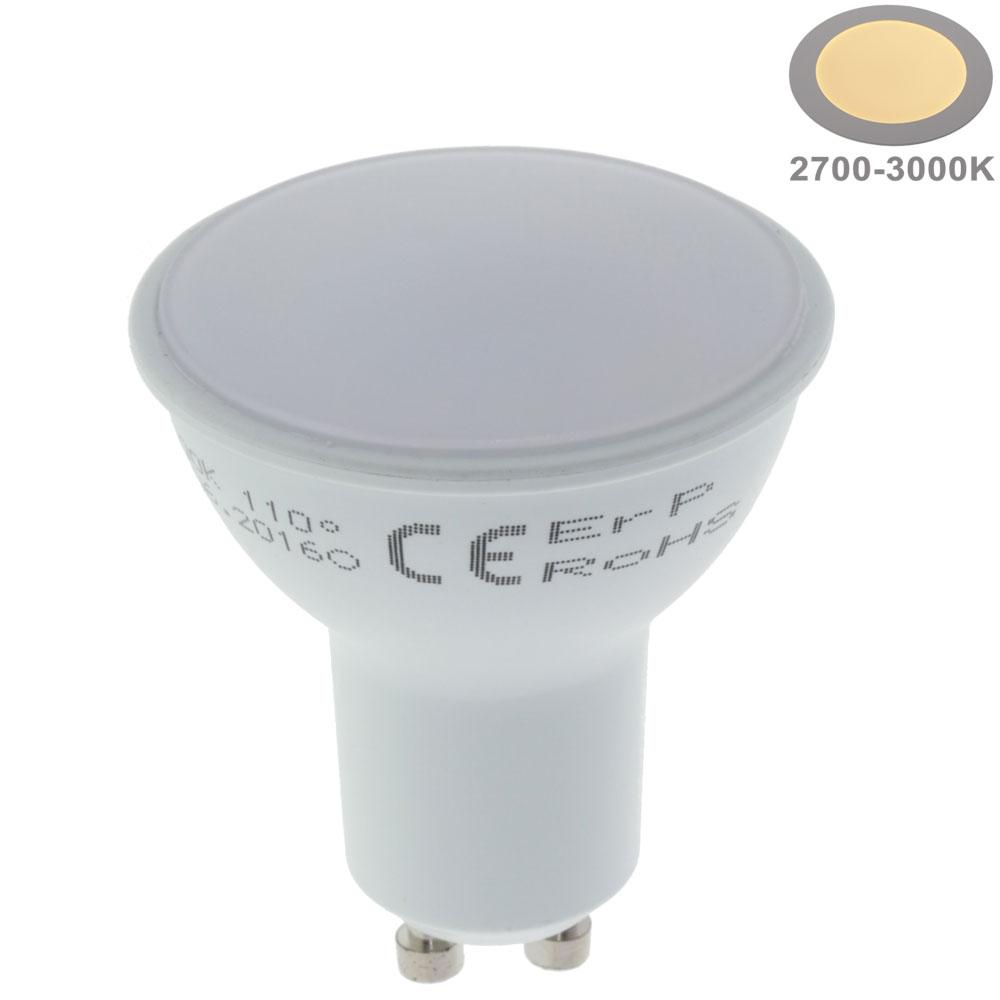 7W LED SMD GU10 Spot 110° Warmweiß