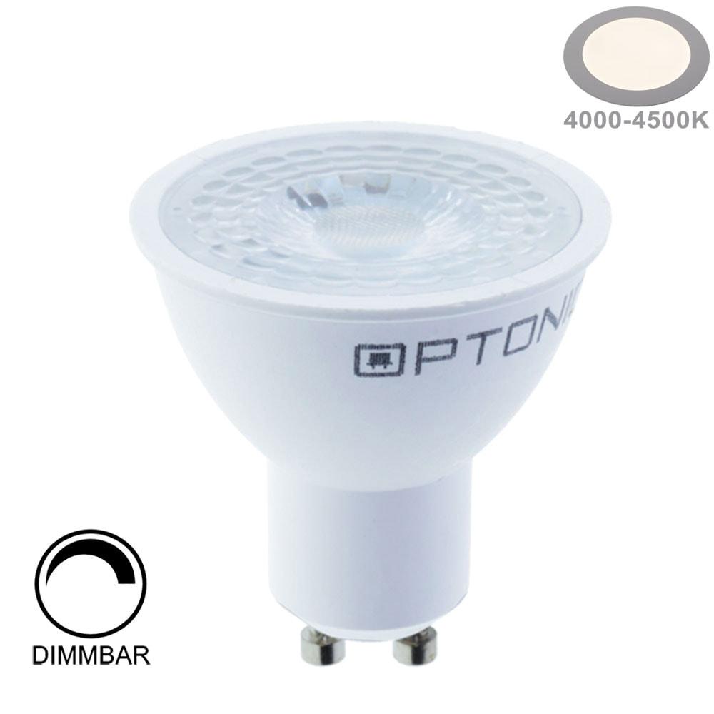 7W LED SMD GU10 Spot 38° Neutralweiß Dimmbar