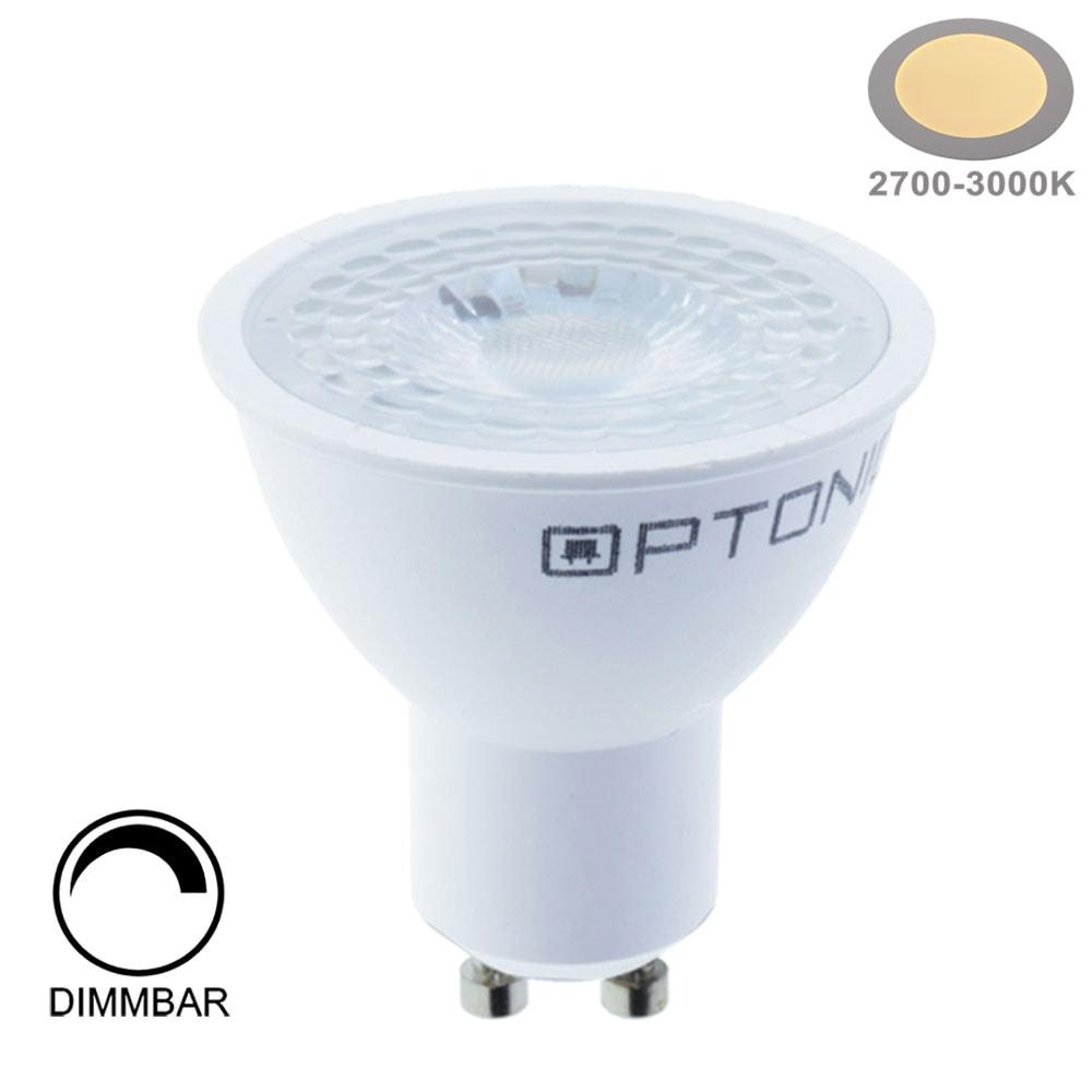 7W LED SMD GU10 Spot 38° Warmweiß Dimmbar